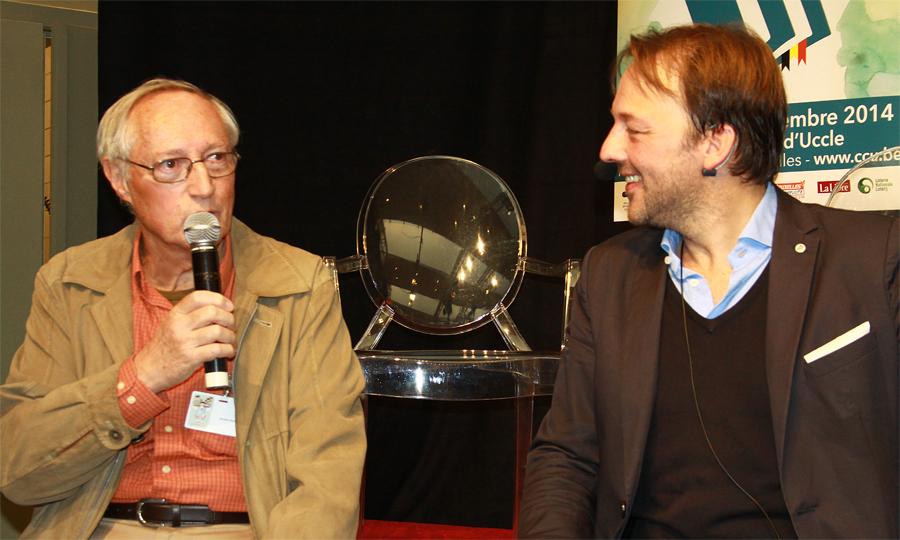 Jacques Goyens est interviewé par Guy Vermeersch à propos de son essai La France en dix leçons.